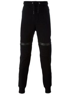 спортивные брюки с нашивками на коленях Les Hommes