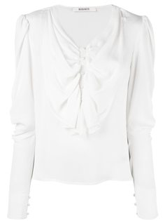 блузка с рюшами спереди Rodarte