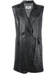 пальто без рукавов Mm6 Maison Margiela