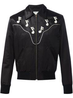 куртка-бомбер Rock Saint Laurent