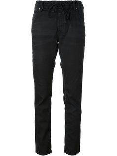 брюки с поясом на завязках Diesel
