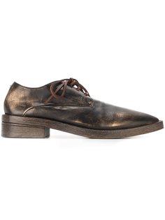 ботинки Дерби с необработанными краями Marsèll