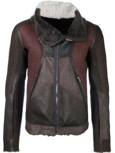 куртка с панельным дизайном Rick Owens