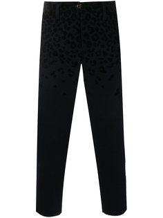 укороченные брюки с леопардовым принтом  Kolor