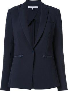 zip pocket blazer Veronica Beard