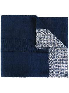 шарф с контрастной окантовкой  Diesel