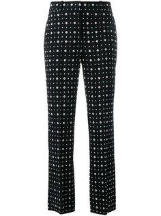 прямые брюки с узором Givenchy