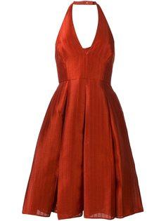 платье с вырезом халтер Halston Heritage