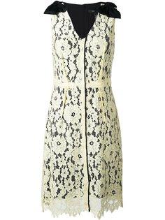 платье миди с цветочным кружевом Marc Jacobs
