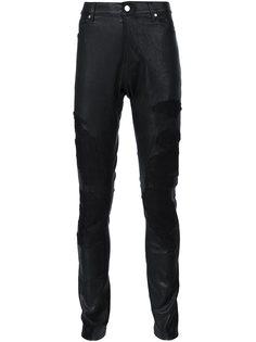 узкие брюки с вышивкой Rta