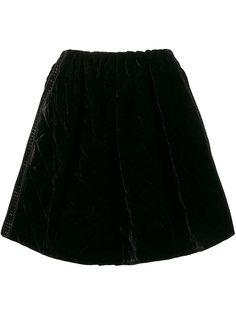 стеганая юбка Fendi