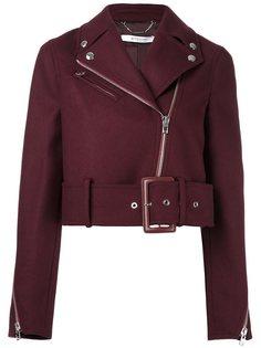 укороченная байкерская куртка Givenchy
