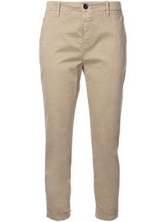укороченные брюки-чинос Closed