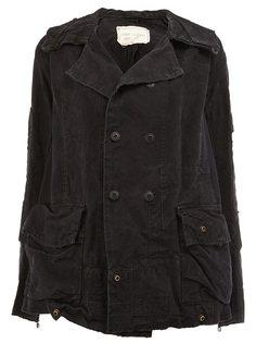двубортная куртка  Greg Lauren