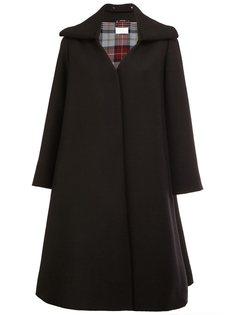 пальто А-образного силуэта с поясом Maison Margiela