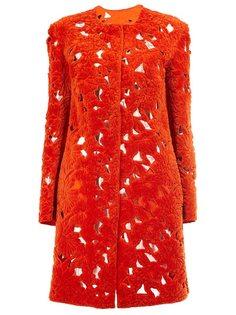 однобортное пальто Giambattista Valli