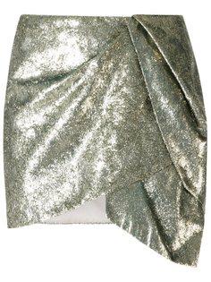 юбка с драпировкой Giuliana Romanno