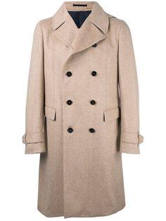 двубортное пальто  Z Zegna