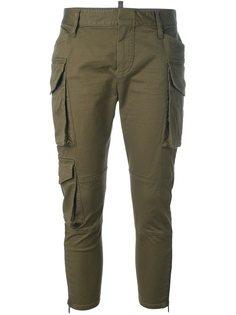 укороченные брюки карго Dsquared2