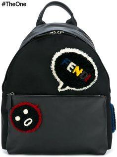 рюкзак с нашивками Fendi