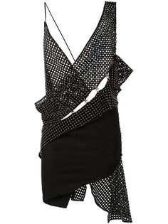 асимметричное платье Anthony Vaccarello