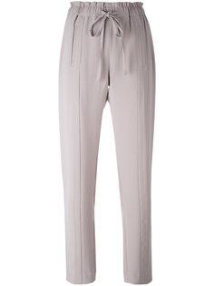 прямые брюки на завязках Steffen Schraut
