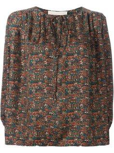 блузка с узором Vanessa Bruno