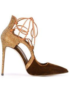 туфли на шнуровке  Le Silla
