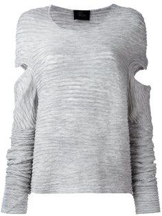 свитер с вырезами  Lost & Found Ria Dunn