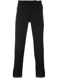 зауженные брюки с молнией Les Hommes