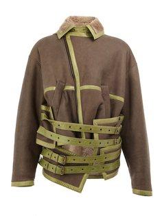 кожаная куртка с ремешками Y / Project