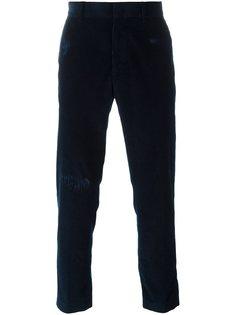 вельветовые брюки прямого кроя MSGM