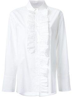 рубашка с оборками Marni