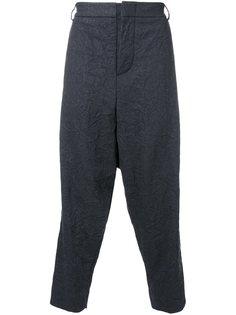 брюки с заниженным шаговым швом Moohong