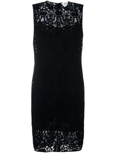 кружевное платье шифт  DKNY