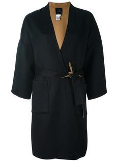 пальто с запахом  Agnona