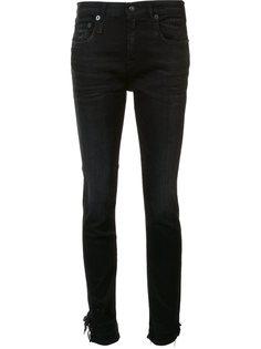 джинсы Stratford с необработанными краями R13