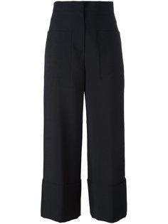 классические брюки кюлоты Fendi
