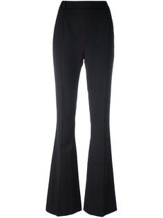 расклешенные брюки с застежкой-молнией сзади Pierre Balmain