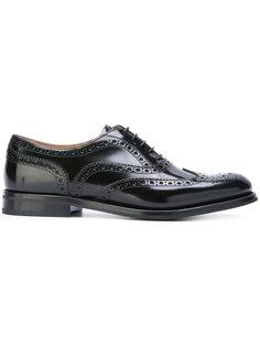 классические туфли броги Churchs