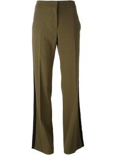 расклешенные брюки с лампасами Nº21
