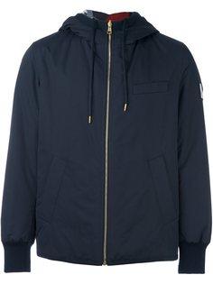 двустороняя куртка-пуховик с капюшоном Moncler Gamme Bleu