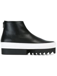 ботинки на рифленой подошве Givenchy