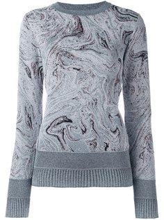 свитер с узором  Lanvin