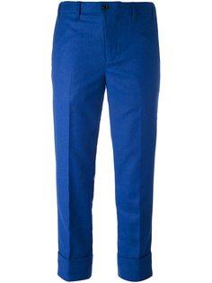 укороченные брюки Julien David