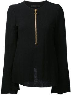 блузка на молнии спереди Ellery