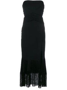 платье с разрезом  Jonathan Simkhai