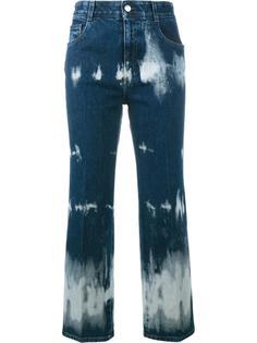 укороченные джинсы тай-дай Stella McCartney