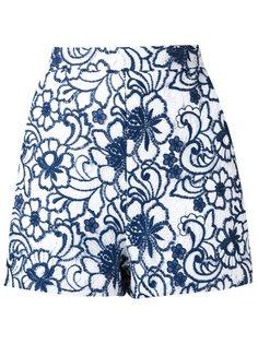 кружевные шорты Tammy с цветочным узором Martha Medeiros