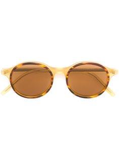солнцезащитные очки  с круглой оправой Tomas Maier Eyewear
